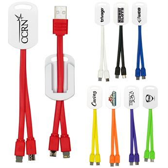 CPP-4338 - 2-in-1 Noodle Charging Cable