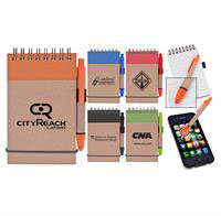 Stylus/ Recycled Notebook Combo