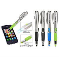 3-in-1 Stylus, Pen, Light