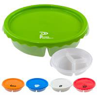 Curvy Round Lunch Container