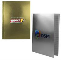 "5"" x 7"" Perfect Metallic Cover Notebook"