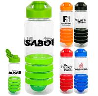 Easy Pour 28 oz. Sporty Ring Bottle with Floating Infuser