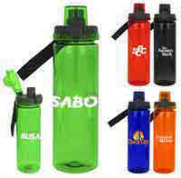 Locking Lid 24 oz. Colorful Bottle