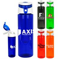 Trendy 24 oz. Colorful Bottle with Infuser