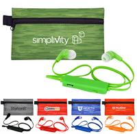 Large Evolve Colorful Bluetooth Ear Bud Set
