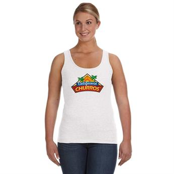 A882L FULL COLOR IMPRINT AVAILABLE!!! - ANVIL LADIES' LIGHTWEIGHT TANK