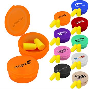 CPP-3333 - Ear Protection in Round Case