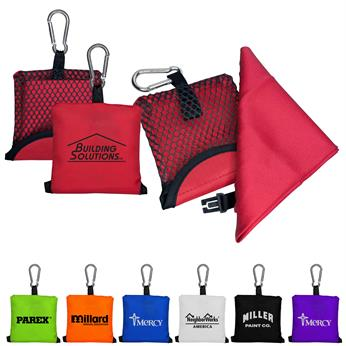 CPP-3387 - Pocket Sports Towel in Pouch