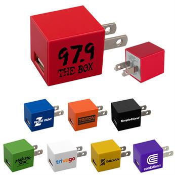 CPP-3897 - UL Square USB Wall Charger