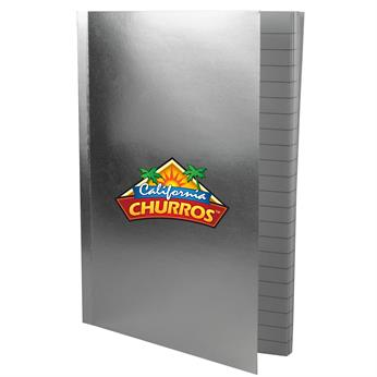 """CPP-4282 - 5"""" x 7"""" Perfect Metallic Cover Notebook"""