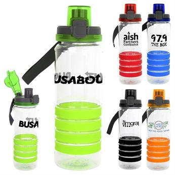 CPP-4530 - Locking Lid 28 oz. Sporty Ring Bottle