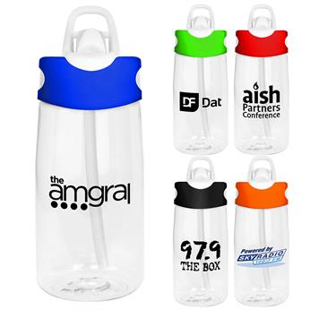 CPP-4554 - Two Tone 18 oz. Bottle
