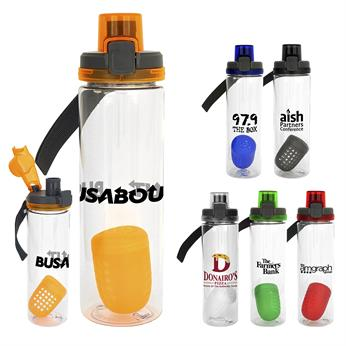 CPP-4555 - Locking Lid 24 oz. Bottle with Floating Infuser