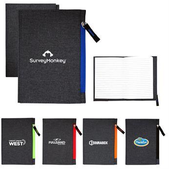 CPP-4566 - G Line Zippered Notebook