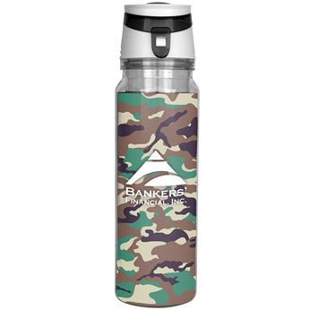 CPP-4593-CAMO - Trendy 18 oz. Camo Insert Bottle