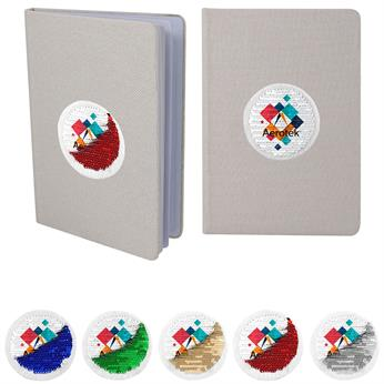 CPP-5025 - Vibrant Sequin Notebook