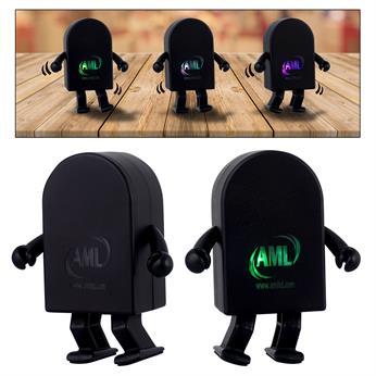 CPP-5083 - Dancing Light Up Logo Bluetooth Speaker