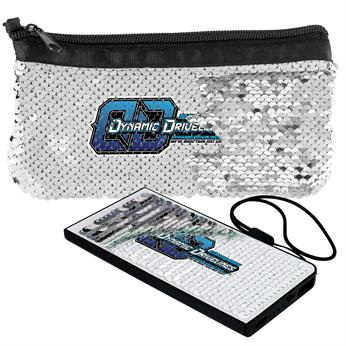 CPP-5290 - Vibrant Sequin Power Bank Set