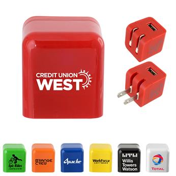 CPP-5315 - UL Colorful Folding Wall Charger