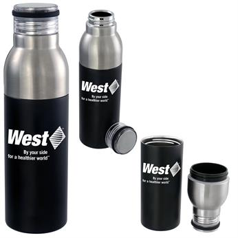 CPP-5499 - Stainless Two Tone Bottle