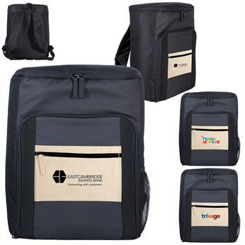 CPP-5609 - Cotton Pocket Cooler Backpack