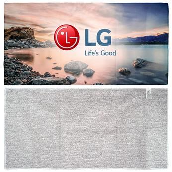CPP-5818 - 24 x 12 Heather Microfiber Towel