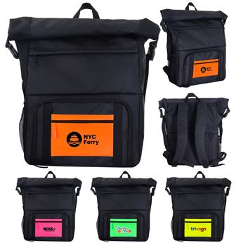 CPP-5822 - Neon Pocket Cooler Combo Backpack