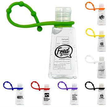 CPP-6001 - Trapezoid Hand Sanitizer with Grip