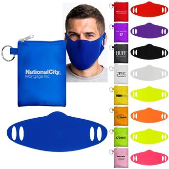 CPP-6006 - Tall Stretchy Face Mask Pouch