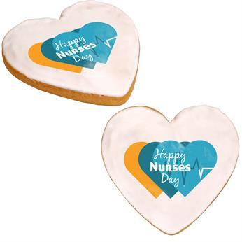 CPP-6253-Nurses - Nurses Day Full Color Heart Cookie