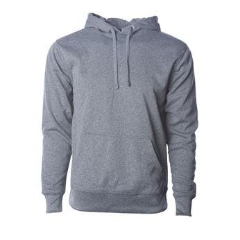 EXP444PP FULL COLOR IMPRINT AVAILABLE!!! - INDEPENDENT TRADING CO. POLY-TECH PULLOVER HOODED SWEATSHIRT