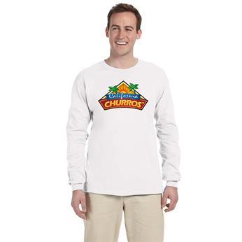 G240 FULL COLOR IMPRINT AVAILABLE!!! - Gildan Adult Ultra Cotton® 6 oz. Long-Sleeve T-Shirt