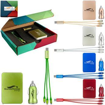 H8535 - Full Color Metallic Gift Set