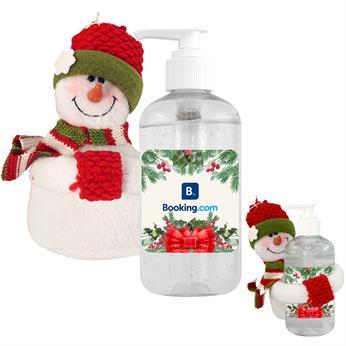 H8666 - Snowman 8 oz. Sanitizer