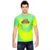 CD100 FULL COLOR IMPRINT AVAILABLE!!! - TIE-DYE ADULT 5.4 OZ., 100% COTTON TIE-DYED T-SHIRT