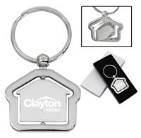 CPP-1003 - House Spinner Keychain