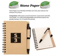 CPP-3011 - Eco Stone Notebook