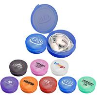 Round Ear Bud Case