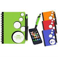 CPP-3193 - Spot Light Notebook & Stylus/ Pen