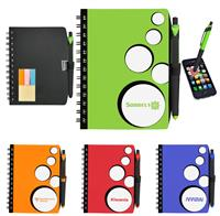 CPP-3194 - Spot Light Notebook With Sticky Note Combo