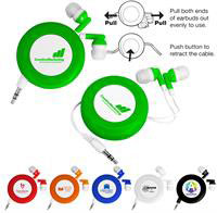 CPP-3402 - Push-Button Retractable Ear Buds