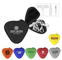 CPP-3499 - Deluxe Mic & Ear Buds in Triangle Case