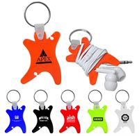 CPP-3503 - Dancer Keychain with Ear Buds