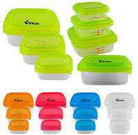 CPP-3890 - Square Portion Control Containers