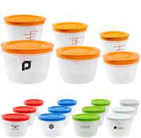 CPP-3893 - Round Portion Control Containers