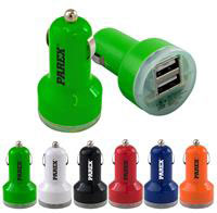 UL Dual USB Car Charger