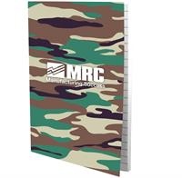 "CPP-3939-CAMO - 4"" X 6"" PERFECT PAPER COVER NOTEBOOK"