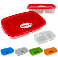 CPP-4081 - Curvy Rectangle Lunch Container