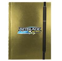 "CPP-4227 - 4"" x 6"" Perfect Metallic Cover Notebook With Elastic Pen"