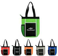 CPP-4266 - Wave Zipper Lunch Tote